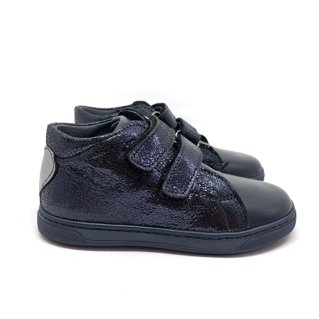 Harper High Top Trainers Navy