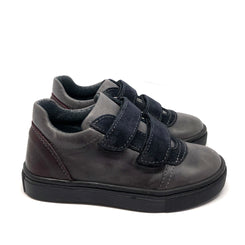 Noah Trainers Grey + Navy