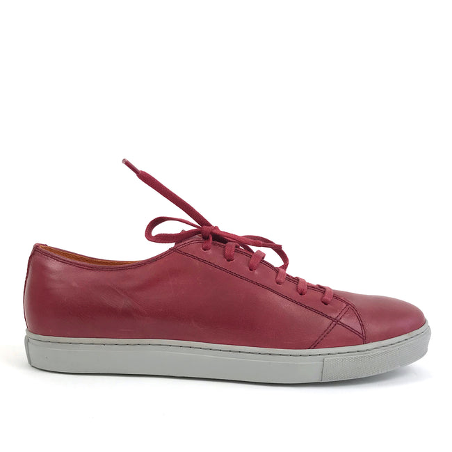Clyde Red Leather