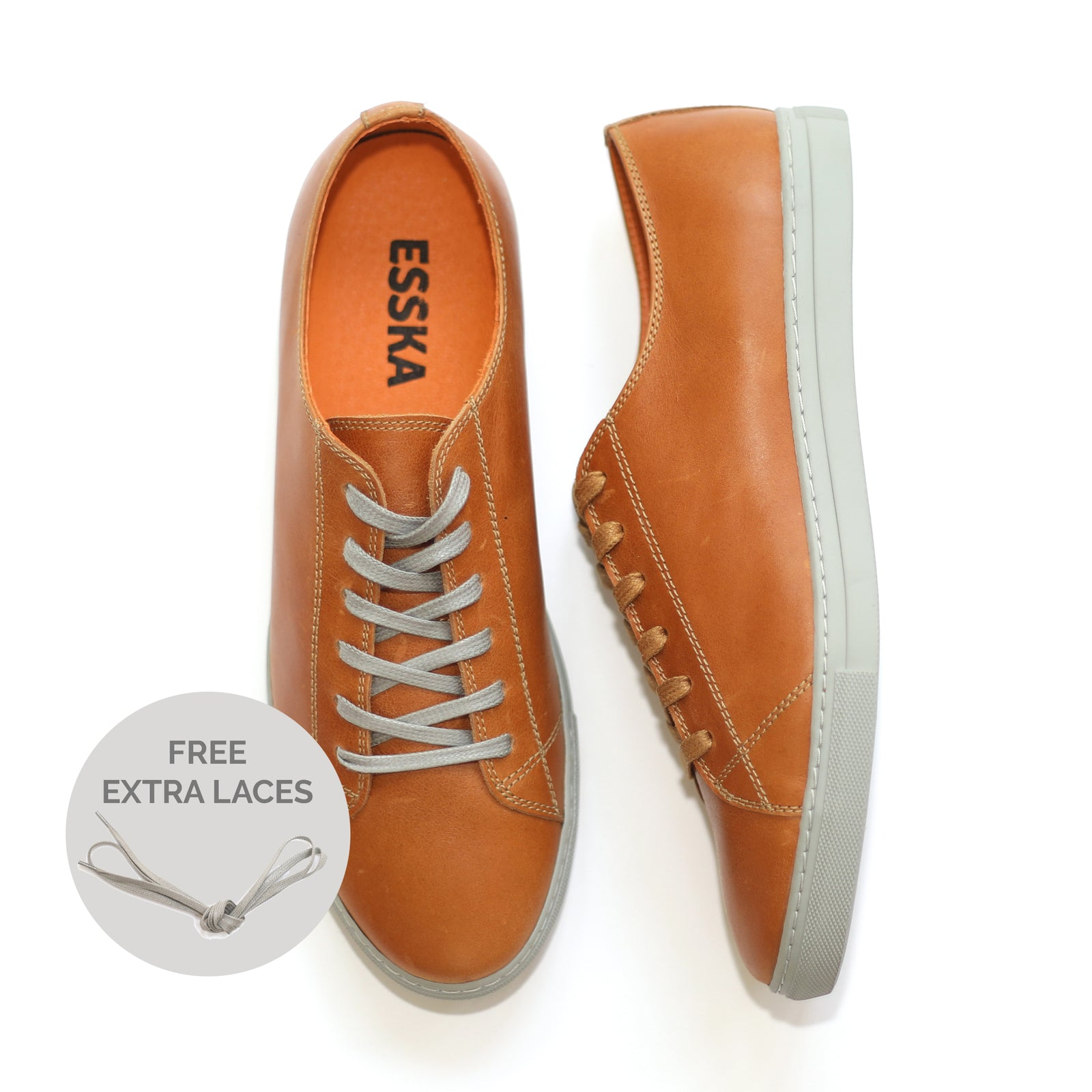 Clyde Tan Leather