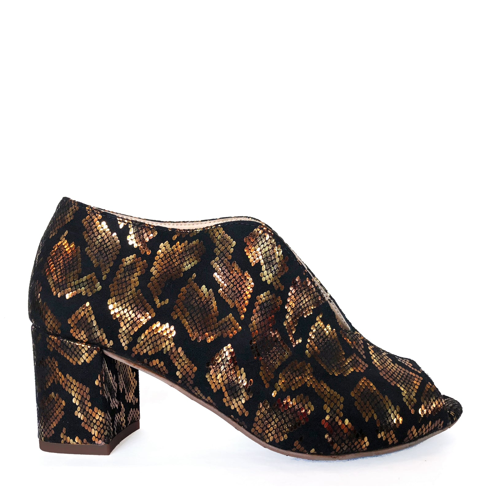 Fink Gold Animal Print