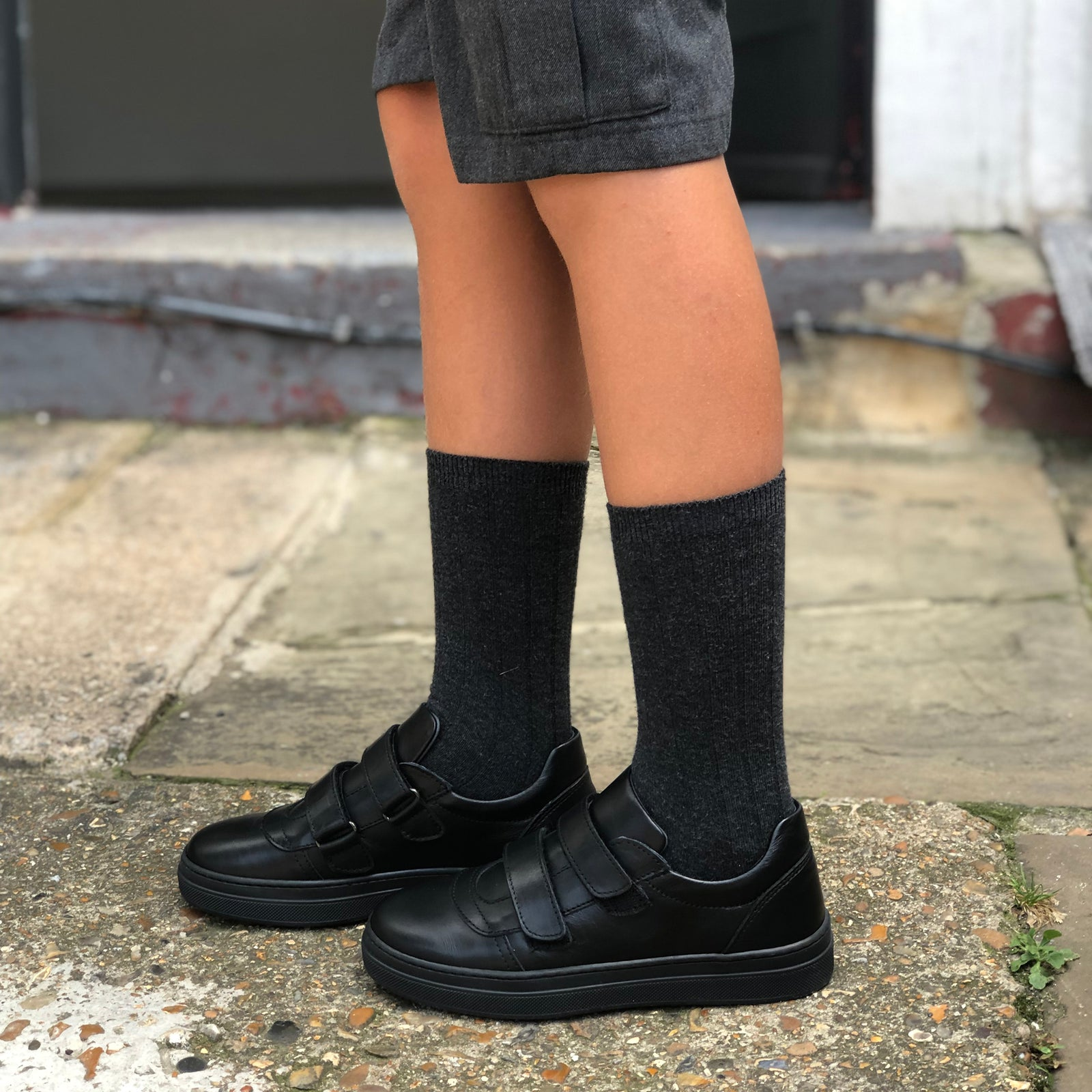 Arthur School Shoes Black