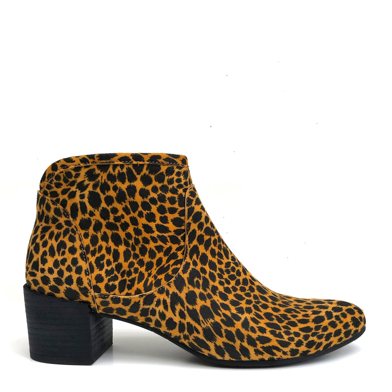 Kiana Animal Print Yellow