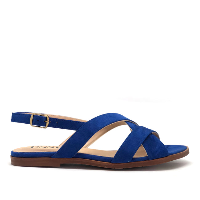Loop Electric Blue Faux-Suede