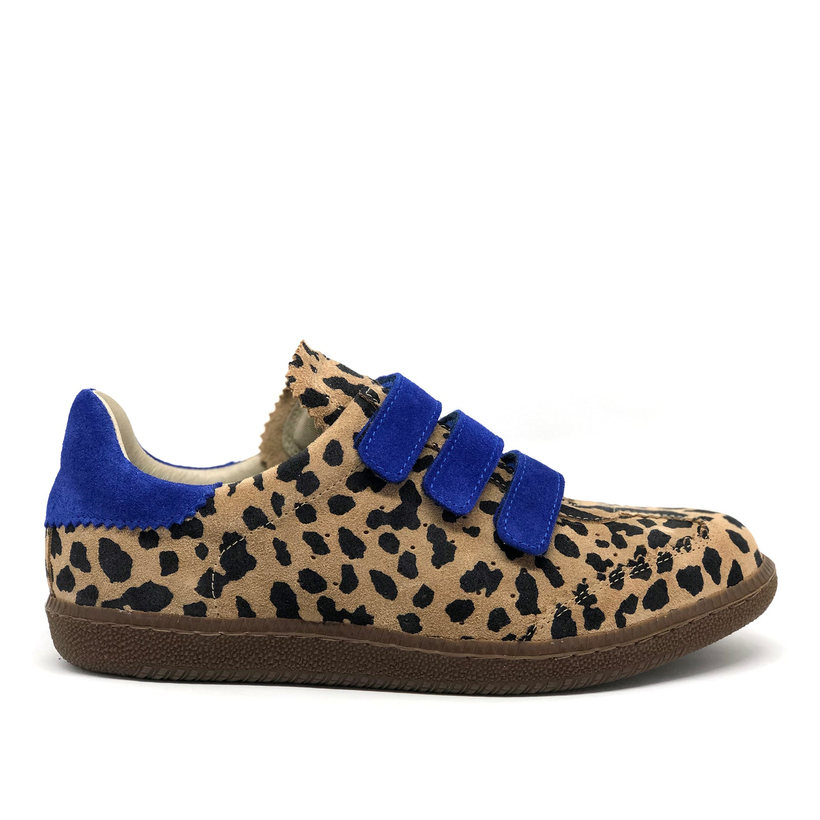 Lush Animal Print + Electric Blue