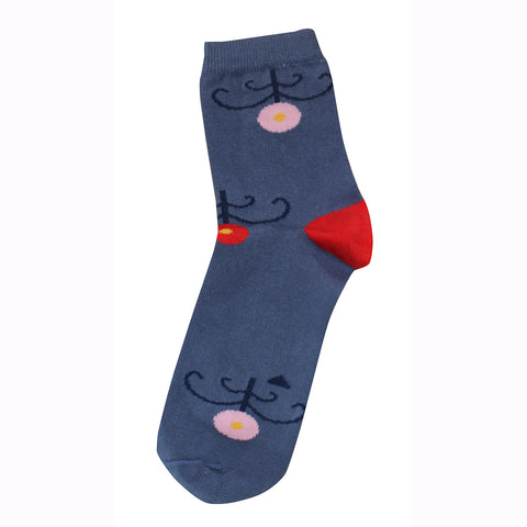 Socks Childhood Blue