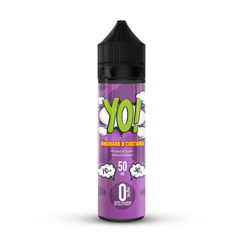 YO! Rhubarb & Custard 50ml