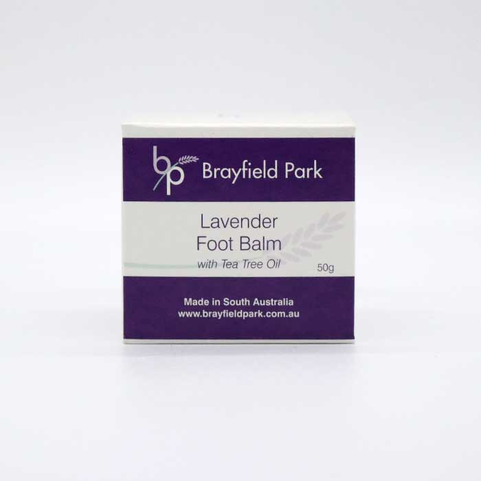 Lavender Foot Balm with Tea Tree Oil
