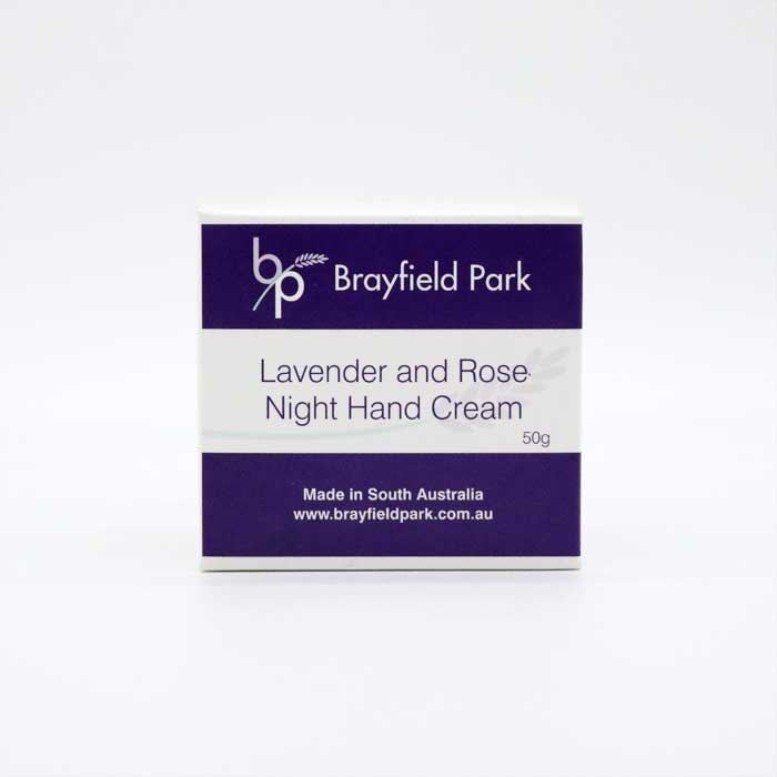 Lavender and Rose Night Hand Cream