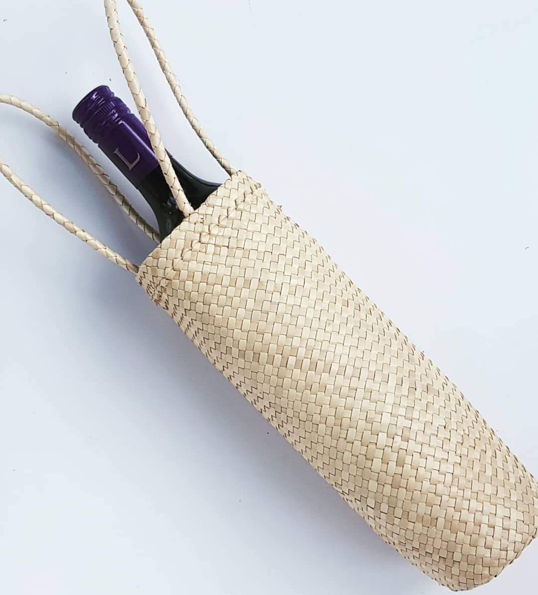 Seagrass Wine Bottle Holders