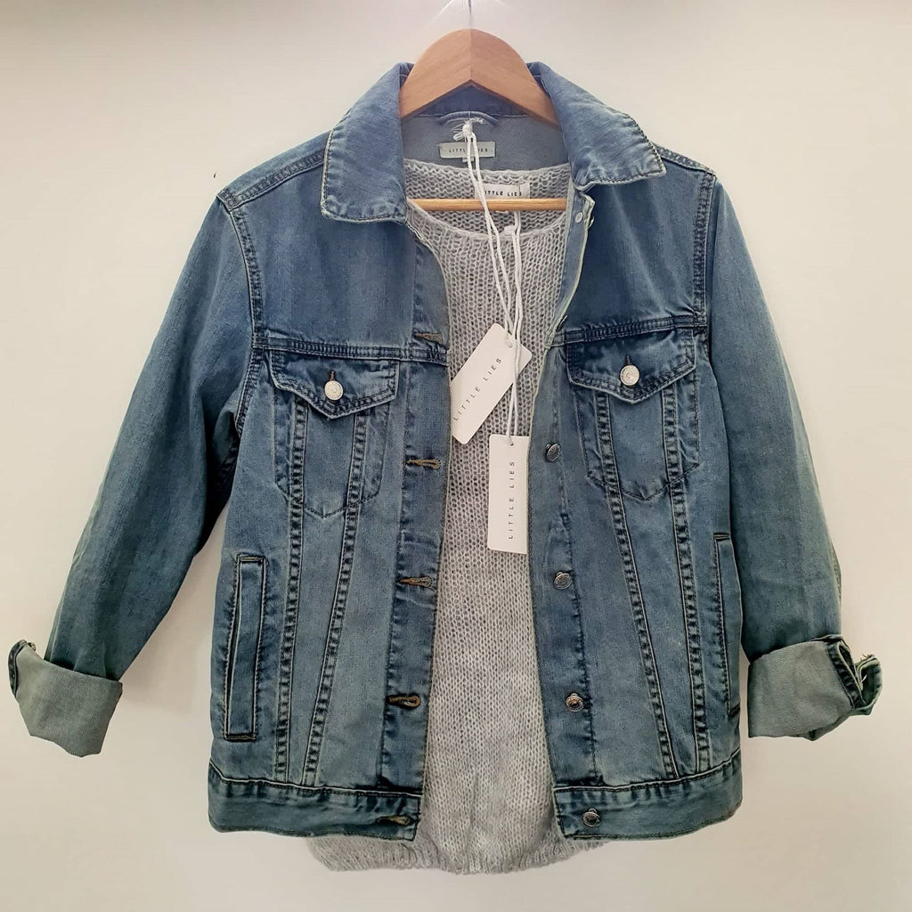 Little Lies Denim Jacket - SAGE Living & Homewares
