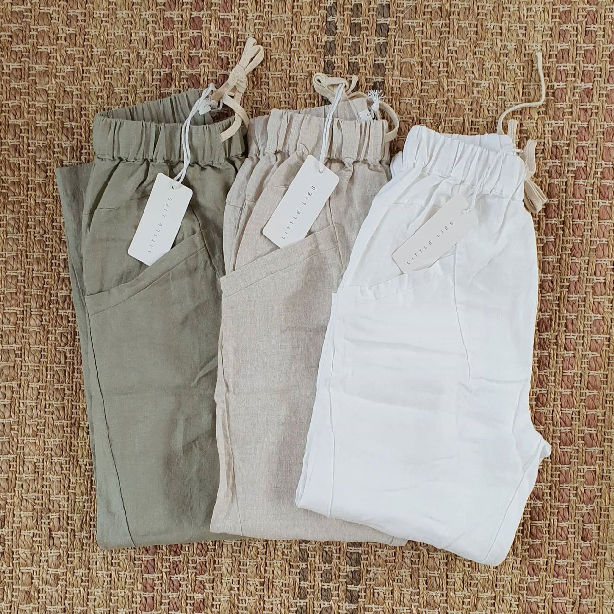 Little Lies Luxe Ramie Pant
