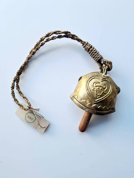 Brass Cow Bell - SAGE Living & Homewares