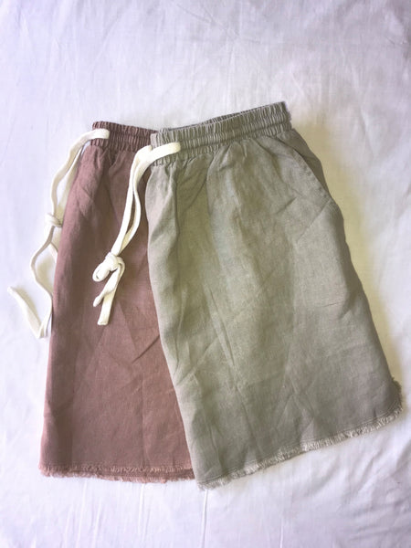 Little Lies Luxe Linen Skirt - SAGE Living & Homewares