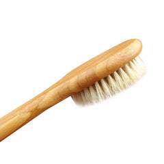 Round Shape Natural Wooden Brush