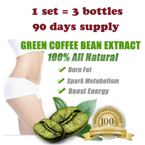 90 Days Pure Green Coffee Bean Extract