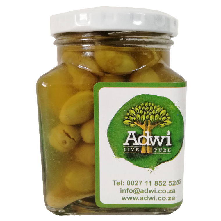 Organic Green Olives - 230 g