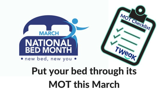 NATIONAL BED MONTH: WHY OLD BEDS ARE BAD FOR YOU