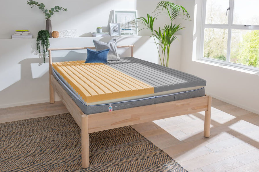 DUO Mattress with foam inserts 2