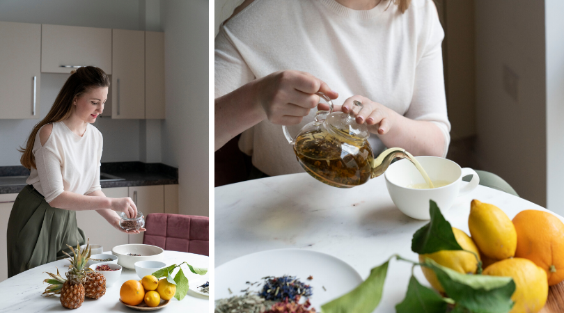 Create a bespoke tea with Nauteas