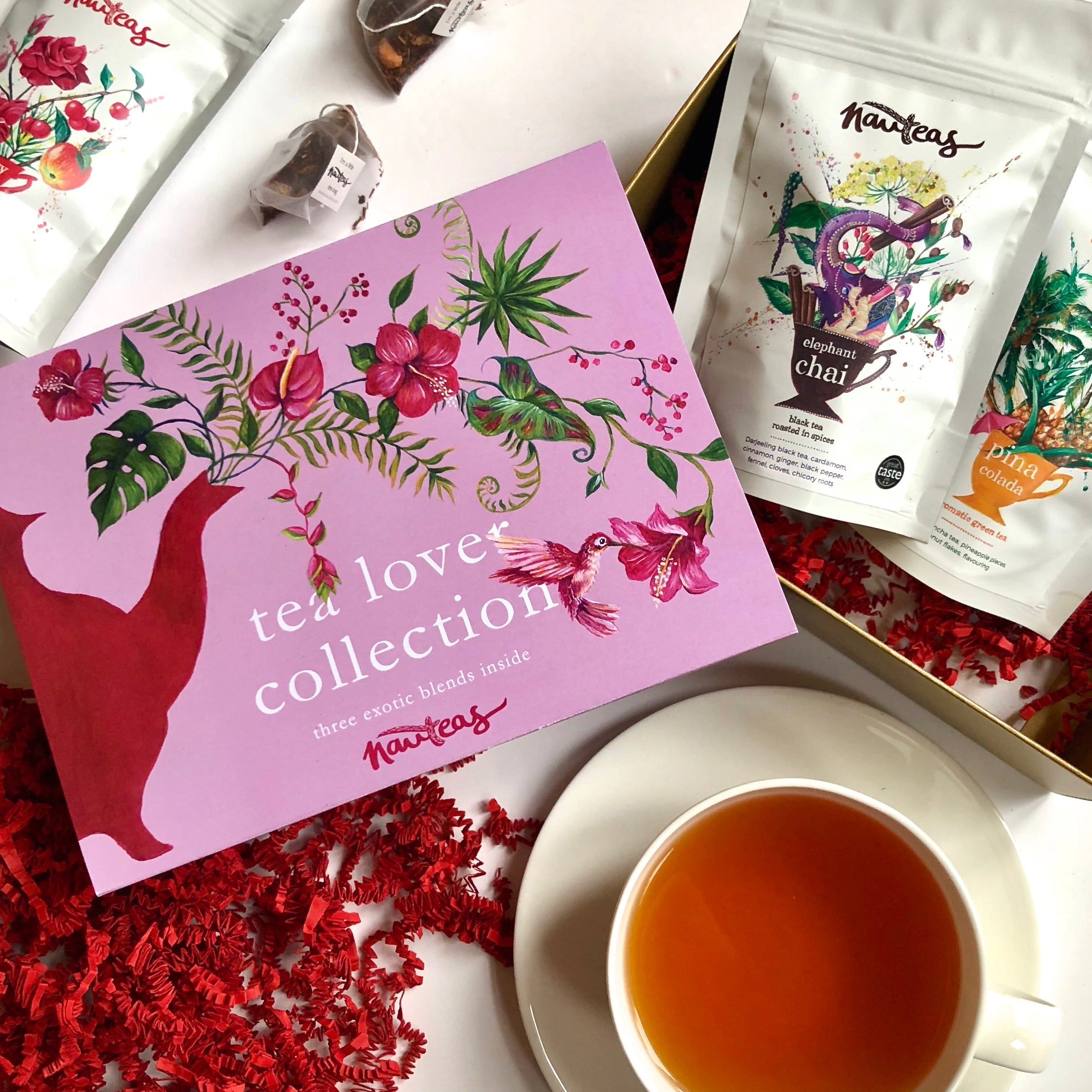 Tea Gift Box - Exotic Tea Lover Collection