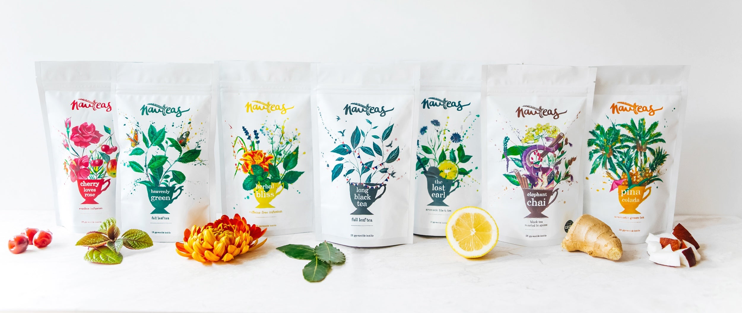 Nauteas Tea Collection - All 7 Flavours