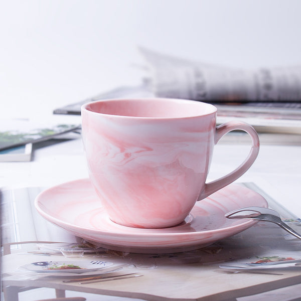 Marble Coffee Cup Set