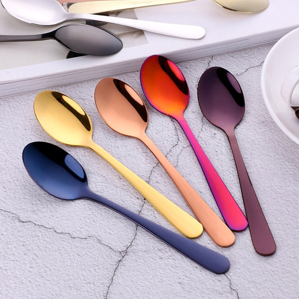 5 Piece Stainless Steel Teaspoon