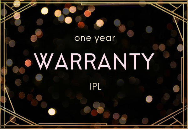 IPL Hair Removal Warranty