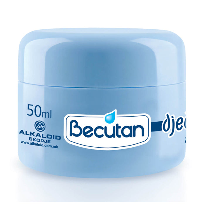 Becutan cream for children 50 ml - Macedonian Delicacies
