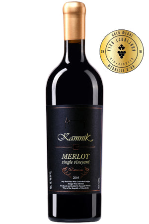 Chateau Kamnik - Merlot Single Vineyard Reserva - Makedonske Delicije