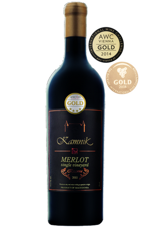 Chateau Kamnik-Merlot Single Vineyard Reserva-Macedonian Delici