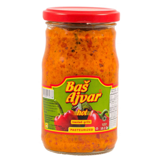Just Ajvar angry DIEM-GP 660g - Macedonian Delicacies