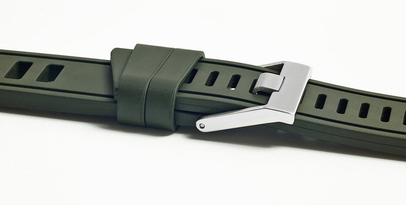 Isofrane - Rubber Watch Strap - Nato Green