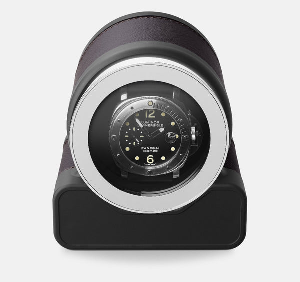 Monochrome Watches Shop | Scatola del Tempo - Rotor One - Watch Winder - Chocolate