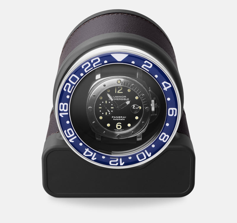 Monochrome Watches Shop | Scatola del Tempo - Rotor One Sport - Watch Winder - Chocolate