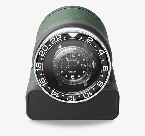 Monochrome Watches Shop | Scatola del Tempo - Rotor One Sport - Watch Winder - Green
