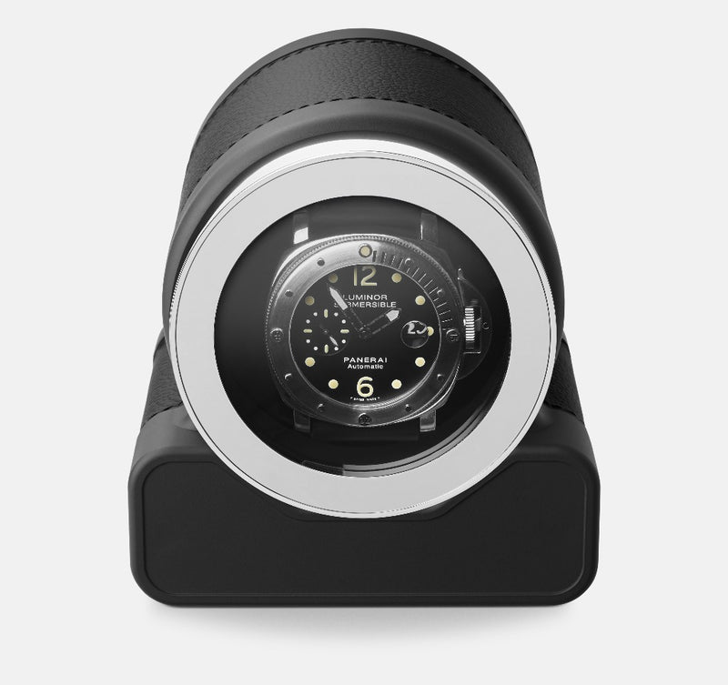 Monochrome Watches Shop | Scatola del Tempo - Rotor One - Watch Winder - Black