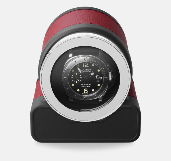 Monochrome Watches Shop | Scatola del Tempo - Rotor One - Watch Winder - Red