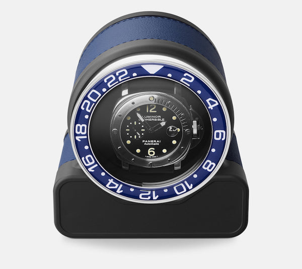 Monochrome Watches Shop | Scatola del Tempo - Rotor One Sport - Watch Winder - Blue
