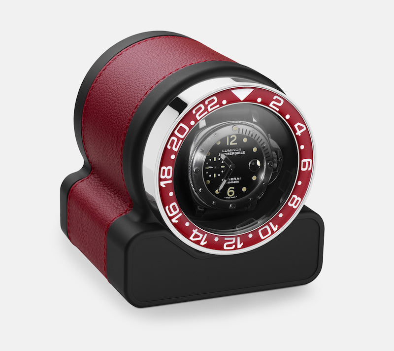 Monochrome Watches Shop | Scatola del Tempo - Rotor One Sport - Watch Winder - Red