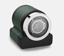 Monochrome Watches Shop | Scatola del Tempo - Rotor One - Watch Winder -Green