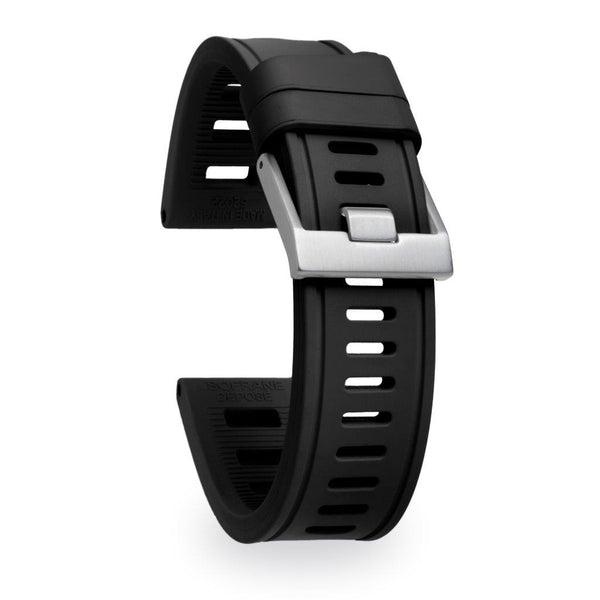 Isofrane - Rubber Watch Strap - Black