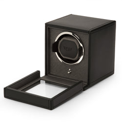 Monochrome Watches Shop | Wolf Cub Single Watch Winder Black