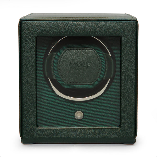 Monochrome Watches Shop | Wolf Cub Single Watch Winder Green