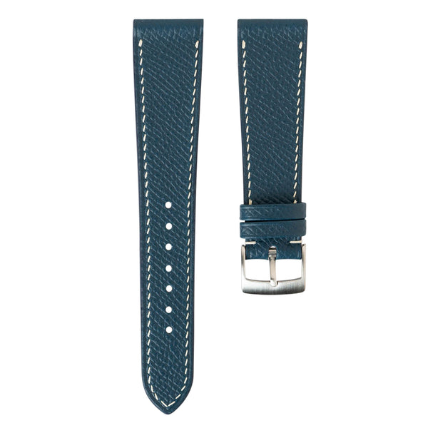 Monochrome Watches Shop | Delugs Epsom Calfskin Watch Strap - Blue