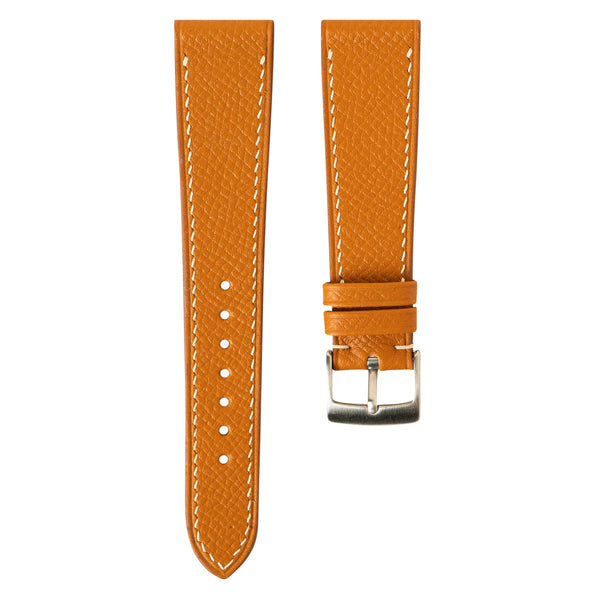 Monochrome Watches Shop | Delugs Epsom Calfskin Watch Strap - Honey