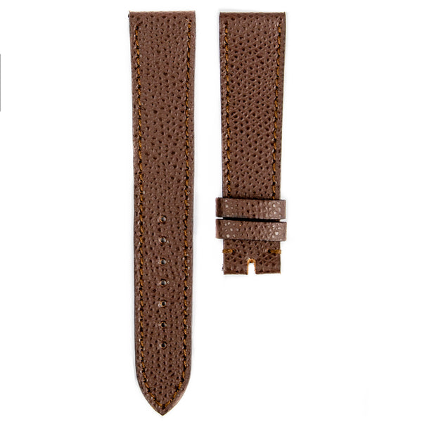 Monochrome Watches Shop | Grained Calfskin Watch Strap - Brown