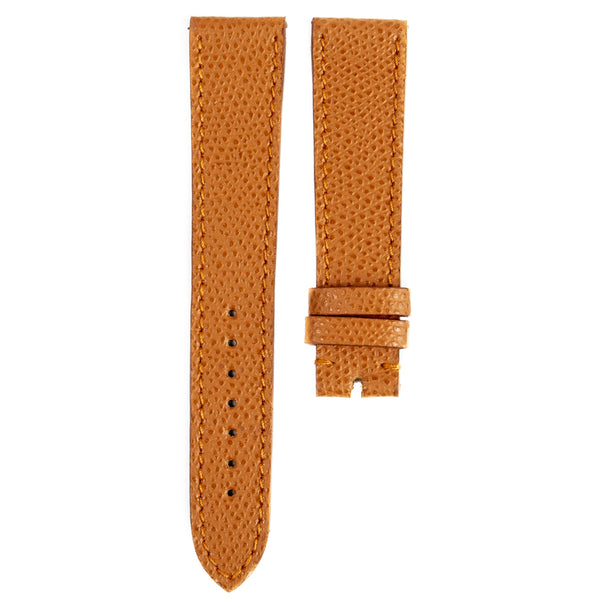 Monochrome Watches Shop | Grained Calfskin Watch Strap - Cognac