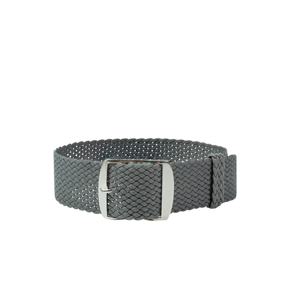 Monochrome Watches Shop | Perlon Strap - Grey